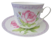 Lilac Rose Cup Set