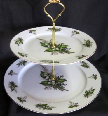 Lily Two Tier Tray
