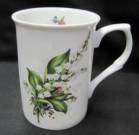 Four Lily of the Valley Mugs