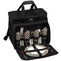 London Picnic Cooler for Four