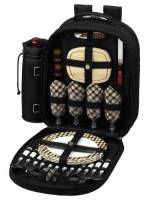 London Picnic Backpack for Four