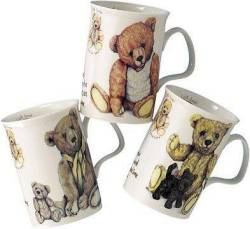 Lost Bear Mugs- Set of Three