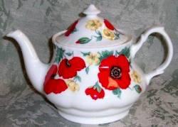 Monet Teapot Six Cup Teapot