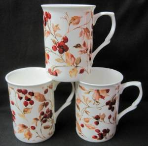 Mountain Ash Chintz Mug