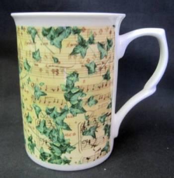 Four Symphony Ivy Mugs