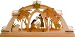 Nativity Candle Arch