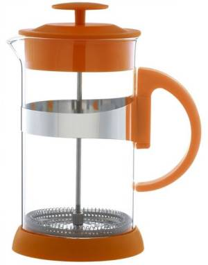 Orange Leaf French Press