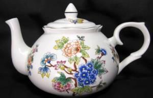 Oriental Garden Six Cup Teapot