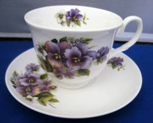 Two Pansy Cup Sets