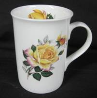 Peace Rose Mugs Set of Three