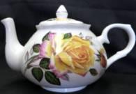 Peace Rose Six Cup Teapot