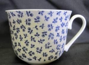 Petite Blue Rose Jumbo Mug