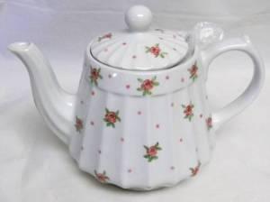 Pink Petite Rose Teapot