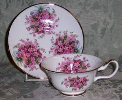 Pink Forget Me Not- Set of Two