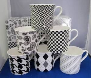 Princess Shades of Grey Mugs
