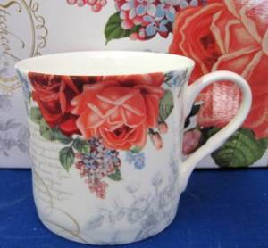 Six Princess Rose Mugs