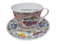 Prunus Breakfast Cup and Saucer