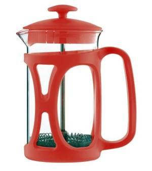Cherry Red French Press