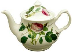 Redoute Rose Six Cup Teapot