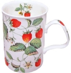 Alpine Strawberry Mugs Set of Three