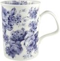 Blue Chintz Mugs - Set of Three