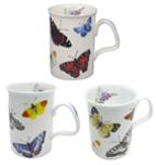 Butterfly Garden Mugs Set of Three