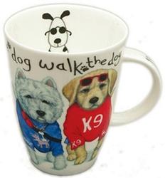 Animal Fashions Dog Mugs Set of Two