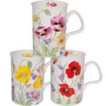 English Meadows Mugs Set of Three