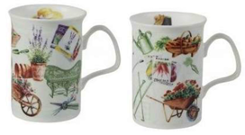 In The Garden Set of Four Mugs