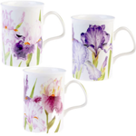 Iris Mugs Set of Three