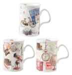 Pastimes Mugs Set of Three