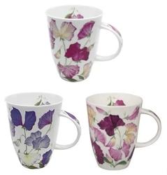 Sweet Pea Mugs Set of Three