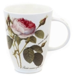 Redoute Rose Louise Style Mugs Set of Two