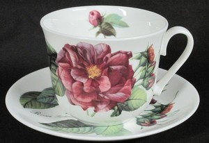 Rose Collection breakfast cup and saucer