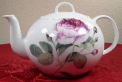 Single Rose Teapot