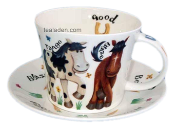 Saddle Up Breakfast Cup and Saucer