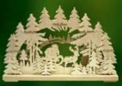 Christmas Eve Santa Arch