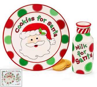 Santa Milk and Cookies