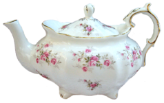 Scattered Rose Six Cup Teapot