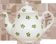 Shamrock Four Cup Teapot