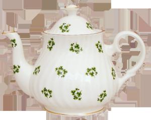 Shamrock Six Cup Teapot