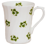 Three Shamrock Mugs