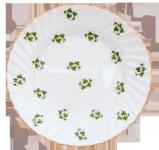 Two Shamrock Dessert Plates