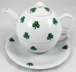 Shamrock Tea for One
