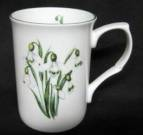 Four Snowdrop Mugs