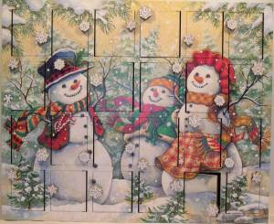 Snowmen Family Advent Calendar