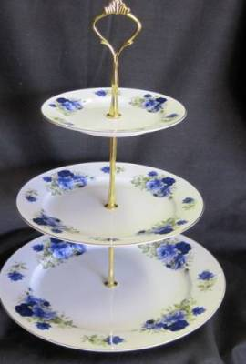 Summertime Blue Three Tier