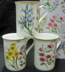 Summer Botanical Mugs