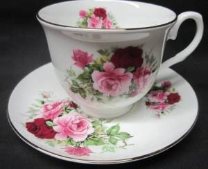Two Summertime Pink Cup Sets