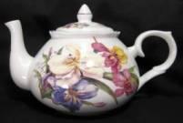 Sweet Iris Six Cup Teapot